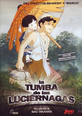 Cartel de la película La Tumba de las Luciérnagas