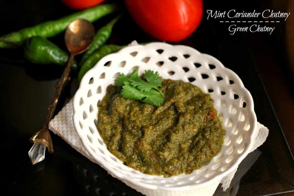 Mint-Coriander-Chutney-Recipe