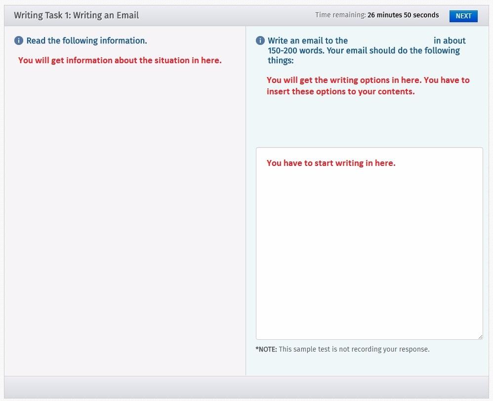2) Writing Task 1 Tip