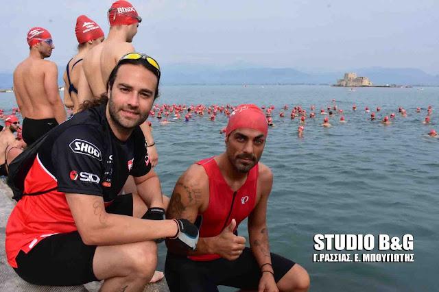 """Χανταμπάκης και Φραγκολιάς στο Ναύπλιο για το """"Nafplio Energy Triathlon"""""""