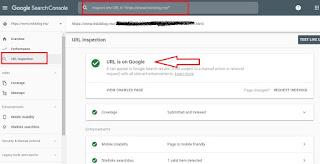 Cara Submit URL Ke Google Terbaru 2019