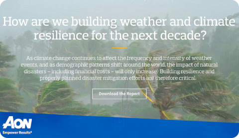 Aon – Climate resilience