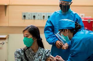 Gawat! Relawan yang Sudah Disuntik Vaksin China Kini Malah Positif Corona
