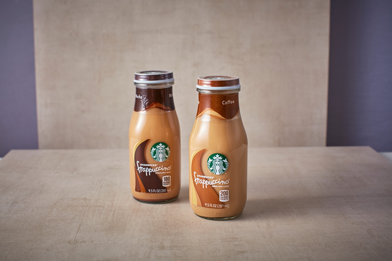 enjoy your starbucks ready to drink frap coffees anwhere