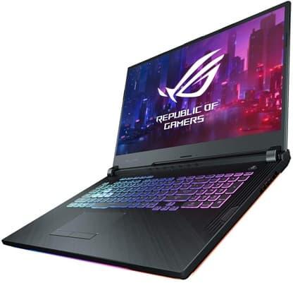 ASUS ROG Strix G512LW-HN038: portátil gaming Core i7, con gráfica GeForce RTX 2070 y teclado retroiluminado