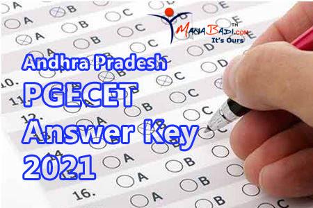 AP PGECET 2021 Key