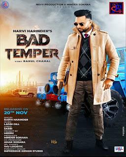 Harvi Harinder Lyrics (Bad Temmper) Full Song - DjPunjabNew.CoM