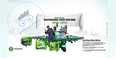 "Glo New Promo Offer Call ""My Own Don Beta"""