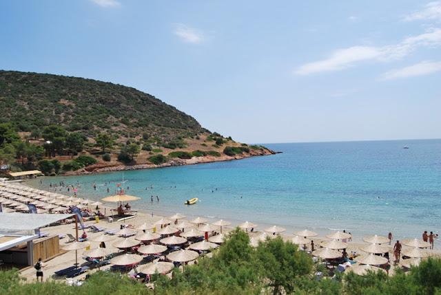 Praia Porto Rafti, Atenas