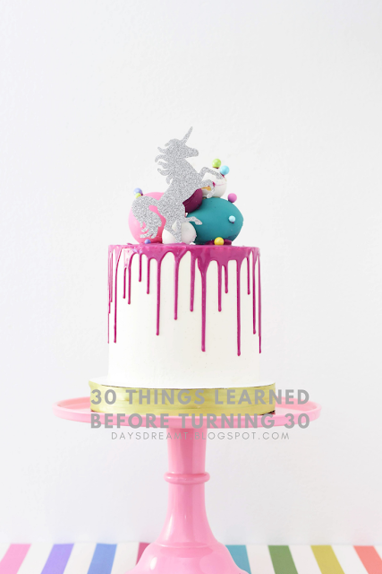 30 Things Learned before turning 30
