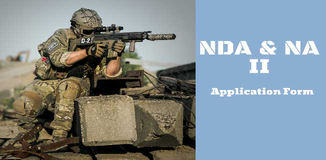 UPSC NDA Application Form 2020