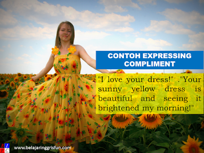 Contoh Expressing Compliment dan Jawabannya