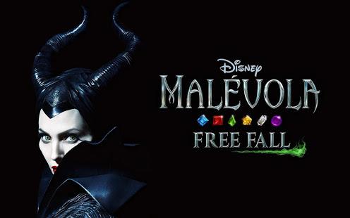 Jogo para celular Malévola Free Fall