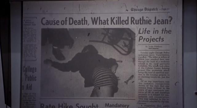 Ruthie Jean di film horor Candyman (1992) yang dikabarkan tewas terbunuh