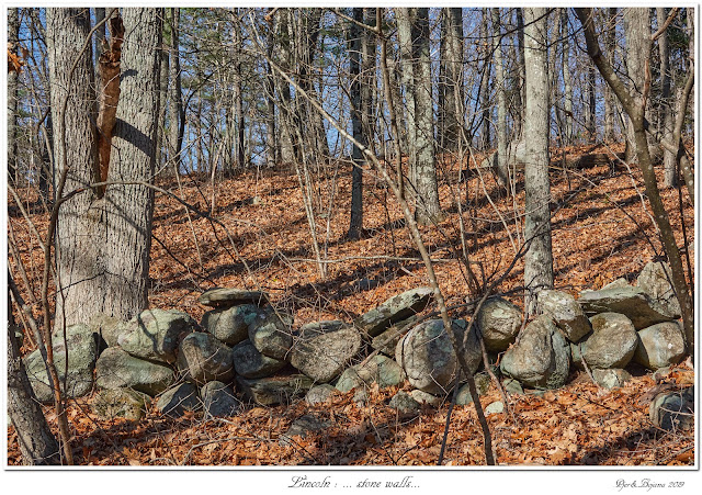 Lincoln: ... stone walls...