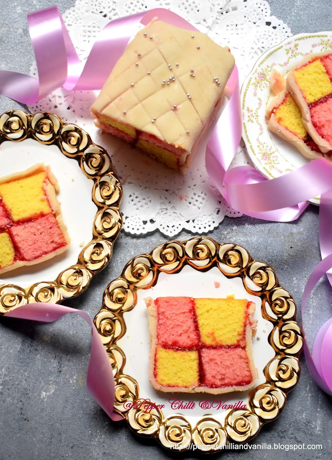 how to make battenberg cake,batternburg ckae
