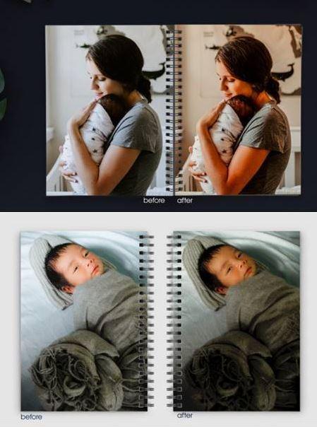 Share Presets Lightroom Newborn cho trẻ sơ sinh (Mobile/Desktop)