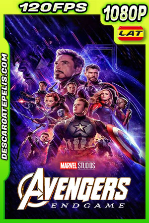 Avengers Endgame (2019) 1080p BDrip 120fps Latino – Ingles