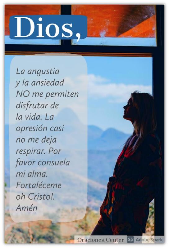 Oración para Calmar la Ansiedad y Angustia