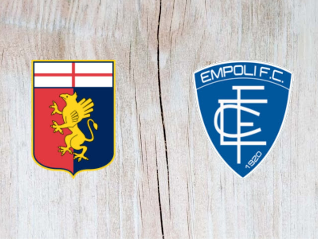 Genoa vs Empoli - Highlights - 26 August 2018