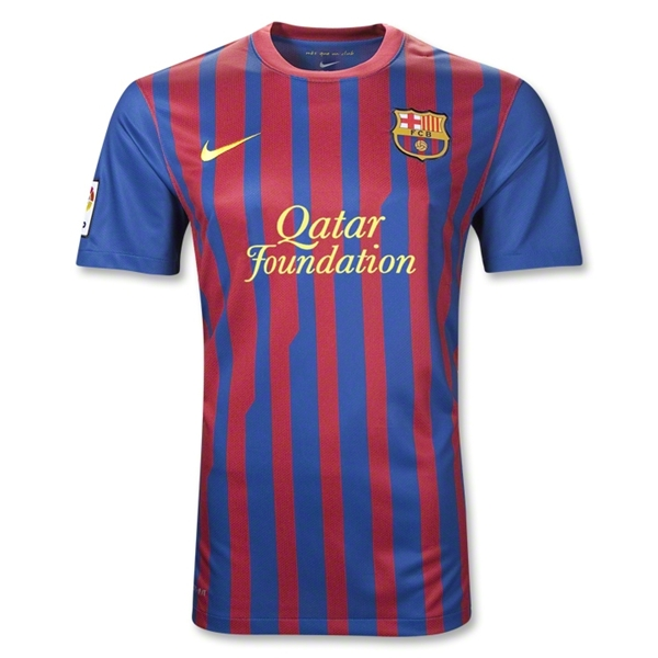 9d3347d8fa0 The new Barcelona 11 12 Nike Home Kit is the uniform that the newly crowned  La Liga champions will wear on their home turf next season.