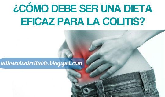 Dieta eficaz para la Colitis