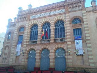 Manuel de Falla,donde se celebra el Carnaval