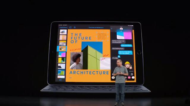 أعلنت شركة آبل عن الجيل السابع من iPad بشاشة 10.2 بوصة