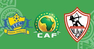 مشاهدة مباراة الزمالك ضد تونغيث 10-04-2021 بث مباشر في دوري ابطال افريقيا