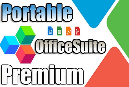 تحميل برنامج OfficeSuite Premium Edition Portable بديل مايكروسوفت اوفيس نسخة محمولة مفعلة