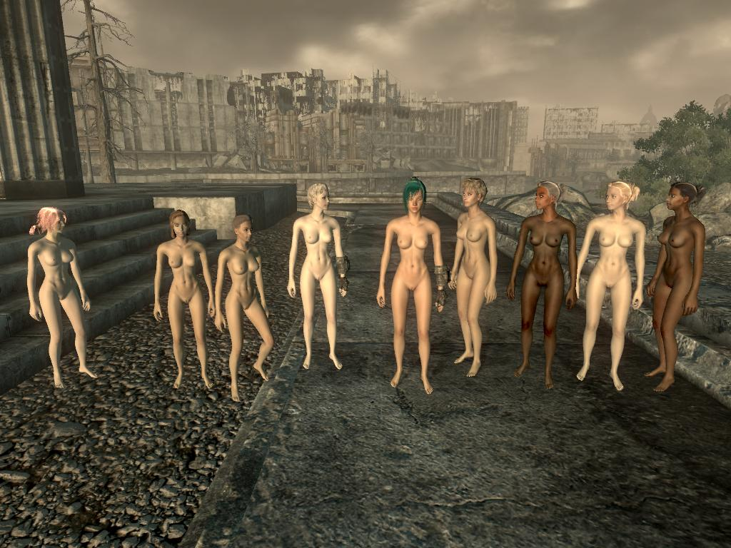 Apologise, Fallout new vegas naked girl having sex