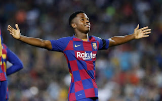 Barcelona: Ansu Fati signs deal until 2022 with £144m release clause