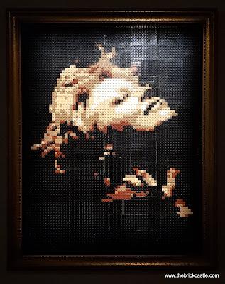 The Art Of The Brick LEGO brick model Nathan Sawaya's wife recreated in LEGO