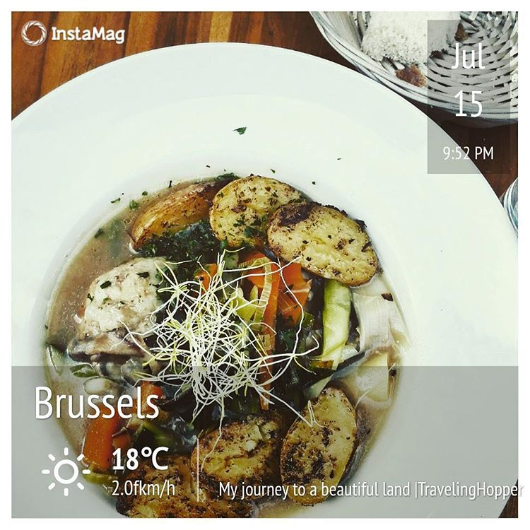Smoked Food in Brussels I Travelling Hopper
