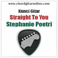 Chord Kunci Gitar Stephanie Poetri Stright To You