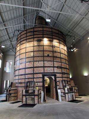 forno antigo da fábrica da Vista Alegre