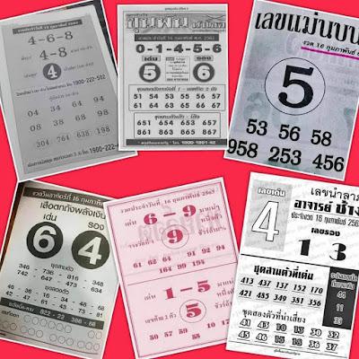 Thai Lottery Checker Online Facebook Timeline Blogspot 16 February 2020