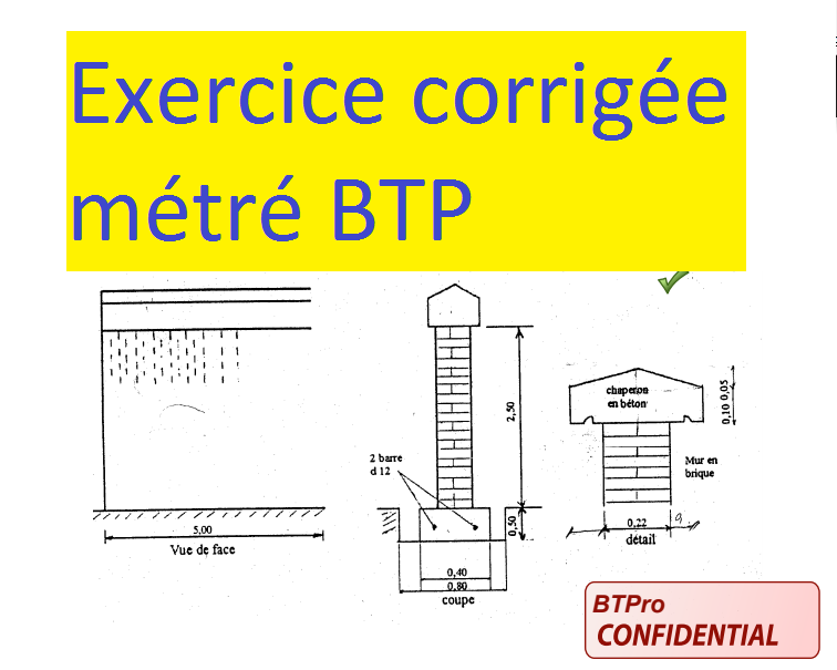 Exercice corrig m tr pour b timent pdf cours g nie for Assainissement cours pdf