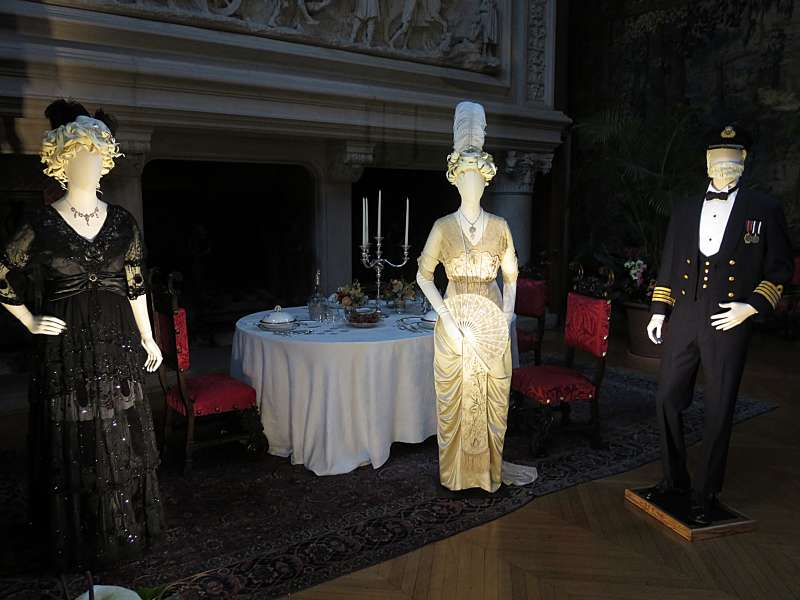 Titanic costumes at Biltmore