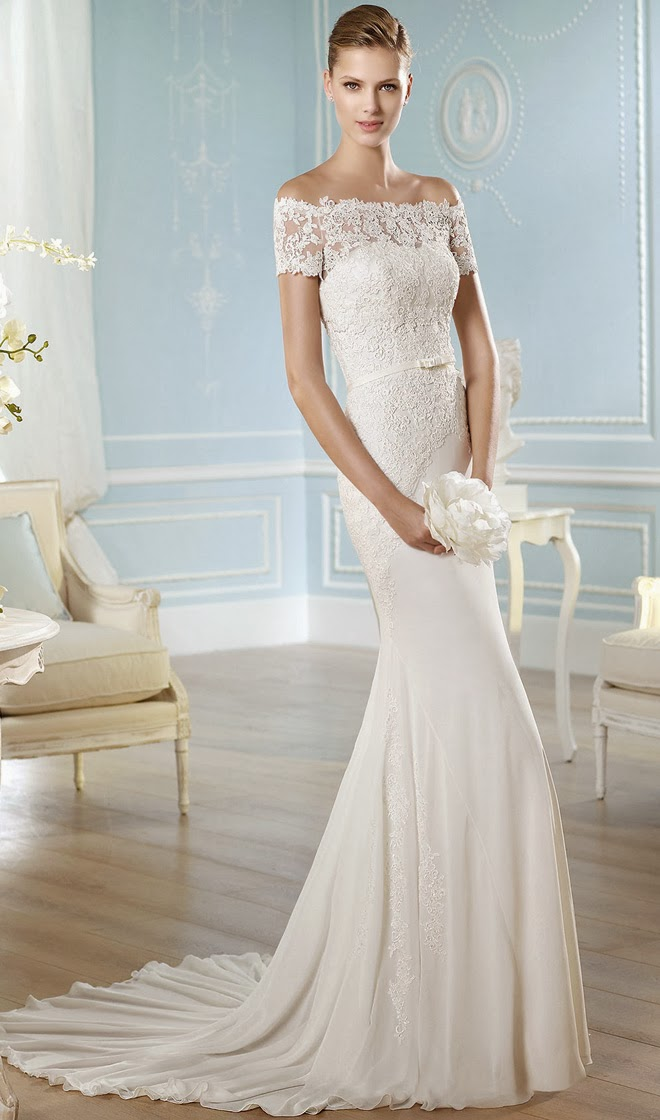 wedding dress san patrick bridal 2014 HADASSE B - Modern Wedding Dress Designers