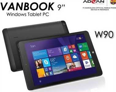 Price Advan Vanbook W9 8 Inch Tablet Specifications Widows Phone OS 81