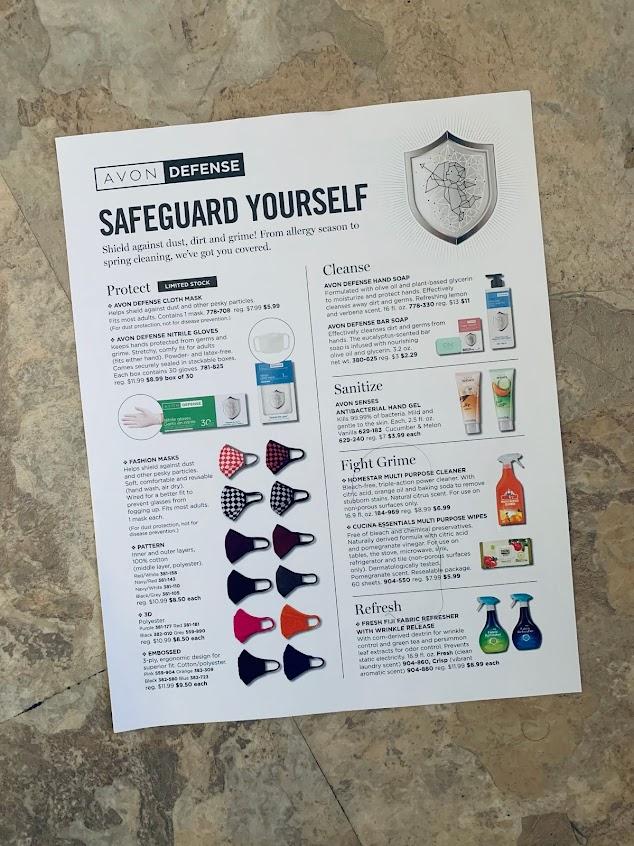 AVON DEFENSE - SAFEGUARD YOURSELF 😷