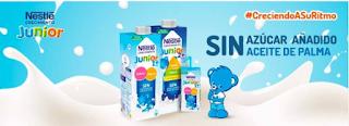 Prueba nestlé Junior crecimiento sin azúcares añadidos