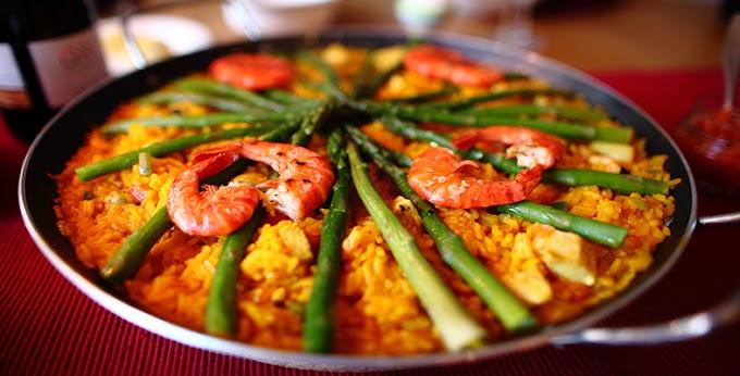 الطعام الاسباني بعض الوصفات الشهيرة