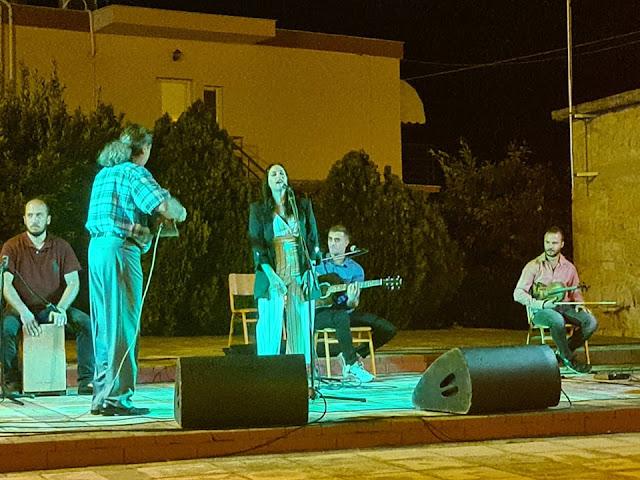 Όμορφη μουσική βραδιά στην ΄Ήρα από τον Κοινωφελή Επιχείρηση Δήμου Άργους Μυκηνών