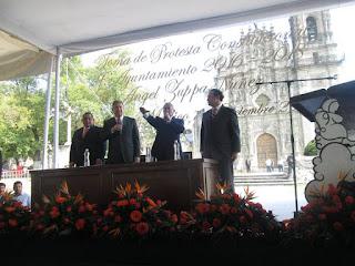 Toma de protesta de Ángel Zuppa Núñez. Fuente (3)