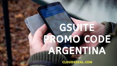 G Suite Promo code Argentina (FLAT 20% OFF)