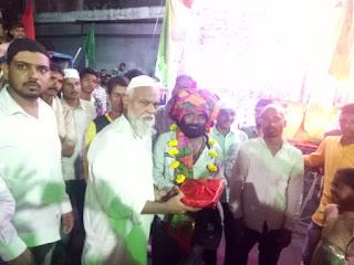मोहर्रम पर्व पर इमाम हुसैन के गम में थांदला में दिखी हिंदू मुस्लिम की एकता