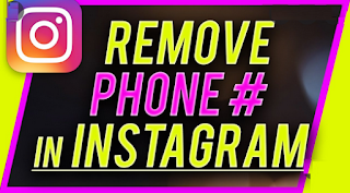 How To Delete Phone number on Instagram on a mobile or computer