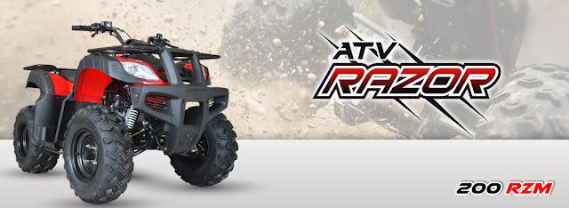 Daftar Spesifikasi ATV Viar Razor